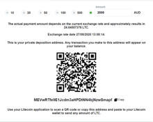 How to deposit with Litecoin-0